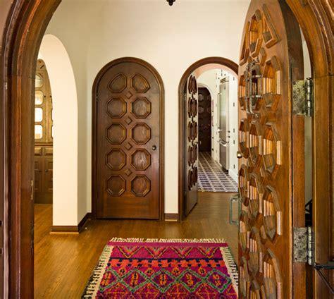 modele de cuisine marocaine en bois modele porte en bois interieur deco maison moderne