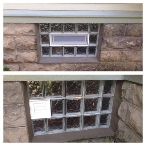 windows  doors glass block windows cellar glass block installation