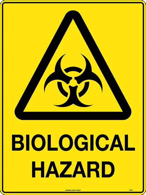 Caution Biological Hazard | Uniform Safety Signs