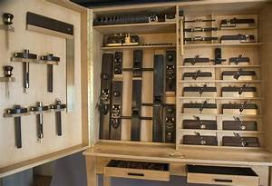 Collaboration One - set of 74 handmade tools and cabinet