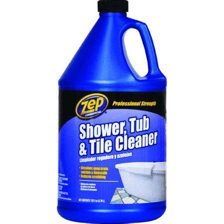 zep tile cleaner zep shower tub and tile cleaner 1 gal