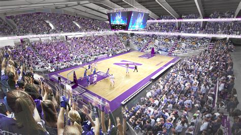 northwesterns welsh ryan arena  receive long overdue