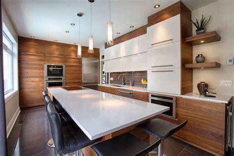 armoires de cuisine qu饕ec comptoir de cuisine en quartz blanc cuisine cuisine