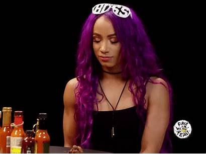 Sasha Banks Through Shows Wants Tables Raw