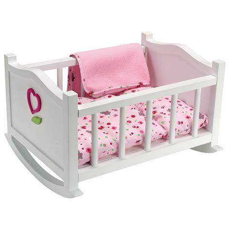 amazon baby cots corolle petits poupons mon premier lit à bascule pour