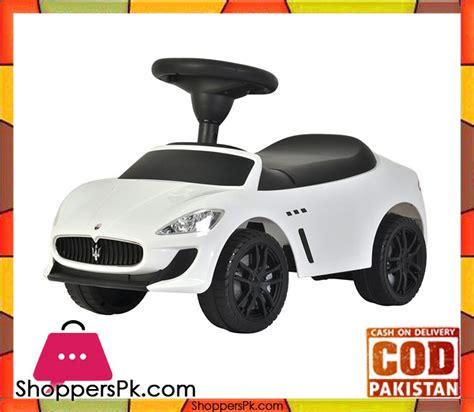 maserati pakistan ride on maserati push car shoppers pakistan