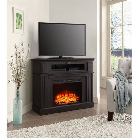 whalen fireplace tv stand whalen sumner corner media electric fireplace for tvs up
