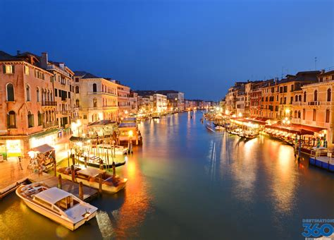 Venice Italy At Night Night Pictures Of Venice