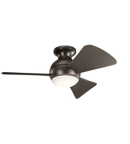 kichler sola ceiling fan kichler 330150oz sola 34 inch olde bronze with brown