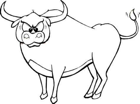 Ox Printable Coloring Pages Sketch Coloring Page