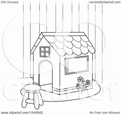 Outline Coloring Play Clip Clipart Royalty Illustration