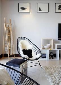 Coussin Pour Chaise Scandinave : fauteuil acapulco comment le relooker marie claire ~ Dailycaller-alerts.com Idées de Décoration
