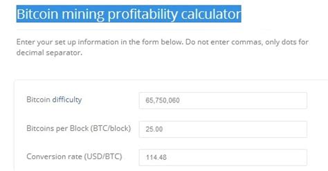 bitcoin mining difficulty calculator 16 awesome and useful bitcoin calculators