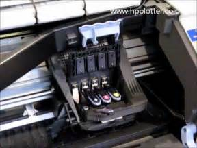 hp design jet 500 hp designjet 500 repair how to replace the printhead on your printer c4810a c4811a c4812a