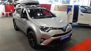 Toyota Rav4 Hybride Black Edition : 2018 toyota rav4 hybrid black edition showroom exterior and interior salon automobile lyon ~ Gottalentnigeria.com Avis de Voitures