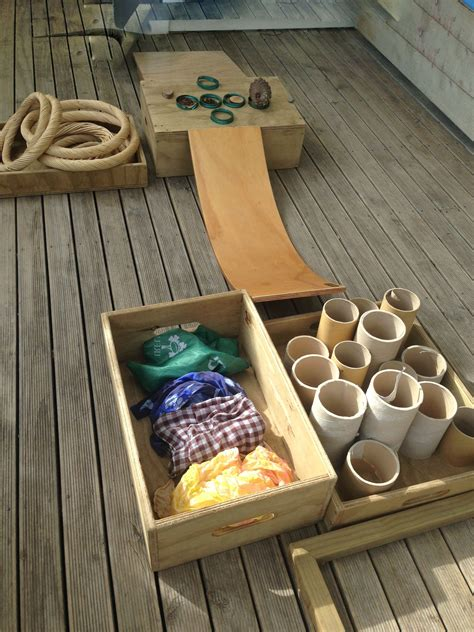 natural materials  provocations  outdoor play