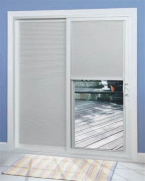Sliding Door With Blinds In The Glass by Sliding Patio Door With Bbg Modern By