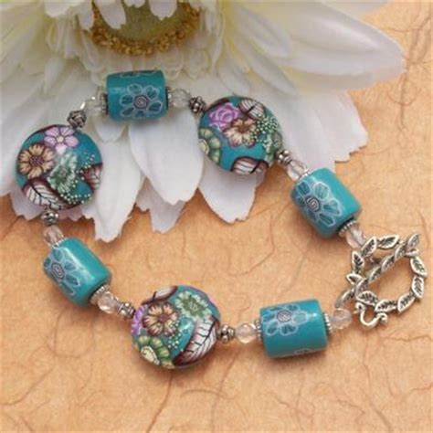 whale earring bracelet with handmade polymer clay jewelry