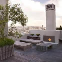 kamin luxus erstaunliche moderne terrassengestaltung in 120 fotos