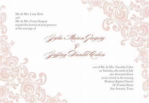 Baptismal Invitation Template Free Download Fancy Invitation Template Blank