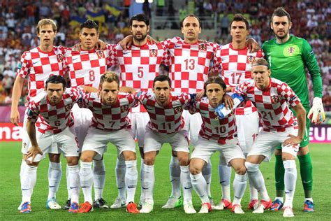 Croatia National Team The Nations World Cup