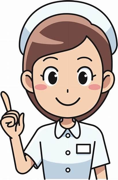 Nurse Nursing Clip Clipart Transparent Student Medicine
