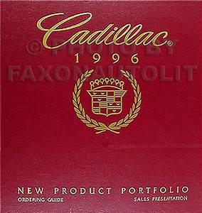 1996 Deville  Concours  Eldorado  Seville Repair Shop