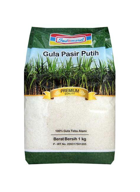 indomaret gula pasir premium putih pck kg klikindomaret