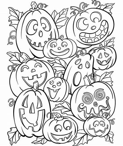 Coloring Crayola Halloween Jack Lanterns Pumpkin Colouring