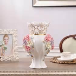 ceramic white modern flowers vase home decor large floor vases for weeding decoration