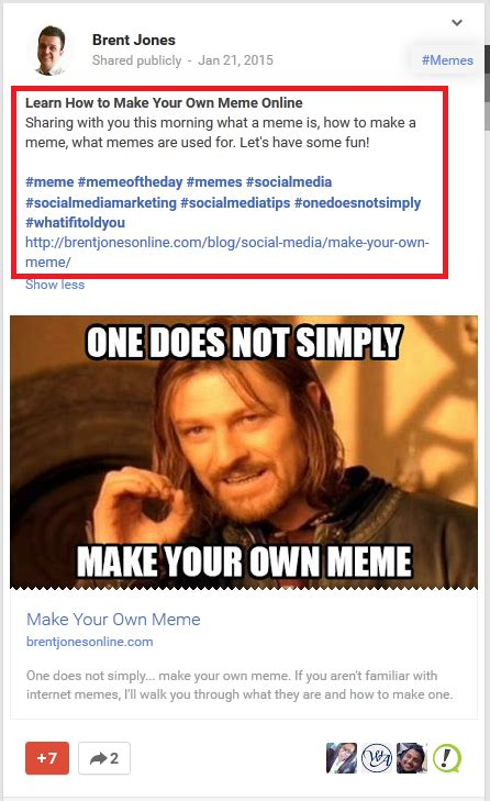 Create Facebook Meme - why google is better than facebook for my blog build your own blog