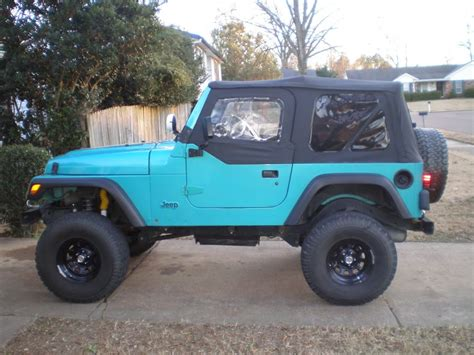 turquoise jeep car turquoise jeep wrangler only color id take a jeep in