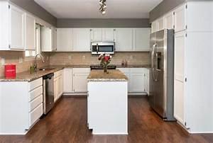 cuisine cuisine ouverte sur salon avec rouge couleur With salon avec cuisine ouverte