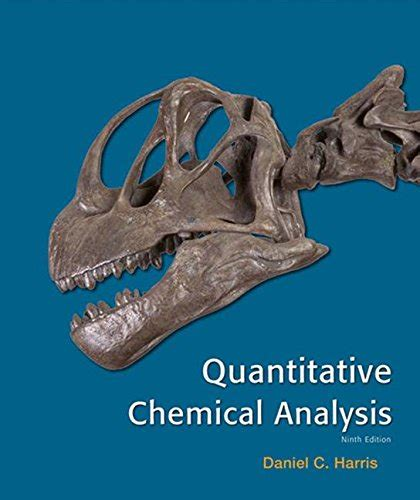 cheapest copy  quantitative chemical analysis  daniel  harris   buy sell  rent cheap textbooks books