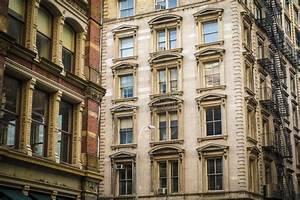 Historic Buildings In New York City's Soho District Stock ...