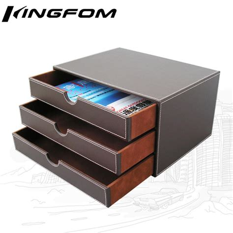 file cabinet file holders 3 drawer 3 layer leather desk filing cabinet file document