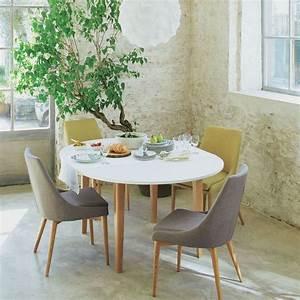17 meilleures idees a propos de tables rondes sur for Meuble salle À manger avec chaise noir salon