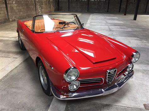 Restoration In Spain Alfa Romeo 2600 Touring Classic