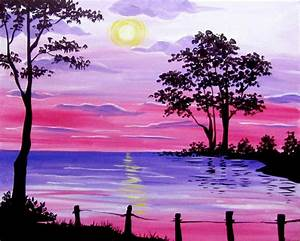 Landscapes Paintings Easy Easy Landscape Paintings Easy ...