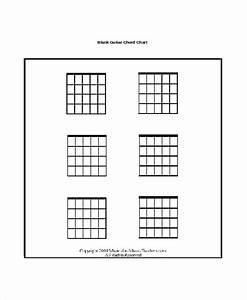 13  Guitar Chord Chart Templates