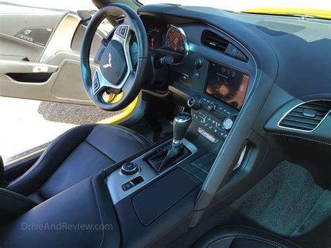 c7 corvette interior review 2015 chevrolet corvette stingray driveandreview