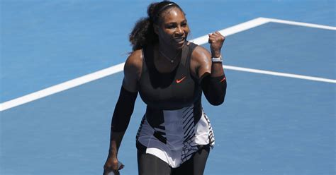 Even Serena Williams Thinks Her Run To Aussie Quarters Is