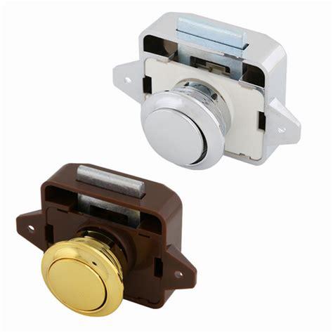 Rv Cupboard Door Latches by Push Button Catch Lock Drawer Cupboard Door Motorhome