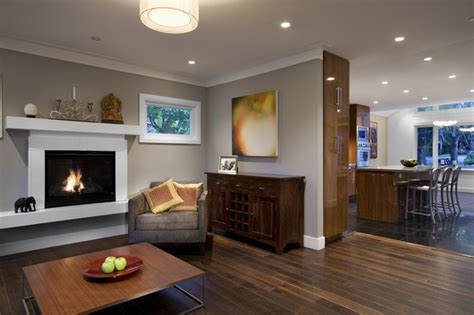 builders  contemporary living room vancouver