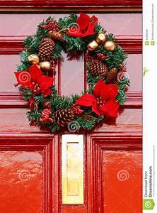 Weihnachtskranz Für Tür : festlicher weihnachtskranz lizenzfreie stockfotos bild 31940128 ~ Sanjose-hotels-ca.com Haus und Dekorationen
