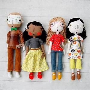 The Pink Doormat: Handmade Dolls by Simpli Jessi