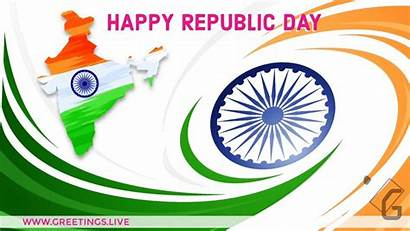 India Republic Happy Animated Greetings Festival Daily