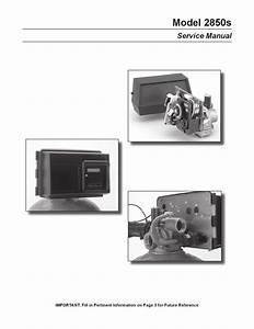 Fleck 2850 Manual De Operacion Y Partes By Puradom Srl