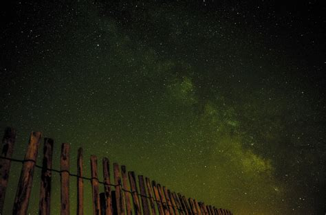 Free Images Fence Sky Night Star Milky Way Cosmos