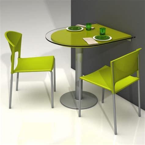 meuble gain de place cuisine spécial petit espace table pliante et meuble gain de